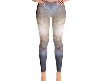 87b55b6292ef64 Galaxy Leggings - Outer Space Leggings - Astronomy Leggings - Gift for her  - Real Hubble Image
