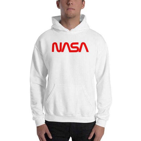 immagini dettagliate taglia 7 costo moderato Felpa retrò NASA - NASA hoodie
