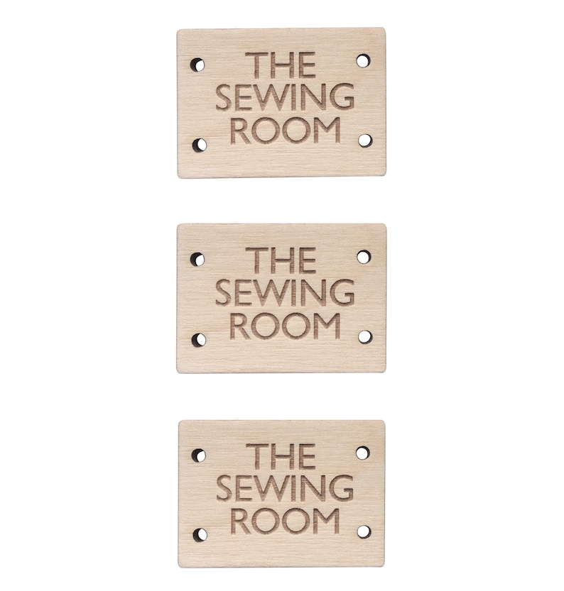 website name Birch Wood RECTANGLE Tags 25mmx15mm Wooden Add Any text an image