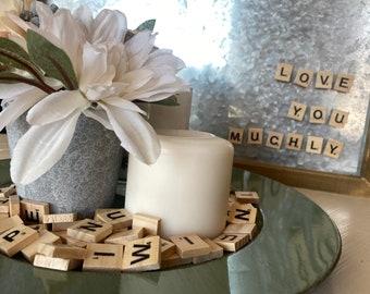 Letter Tile Magnets