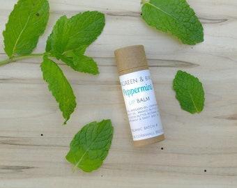 ORGANIC PEPPERMINT LIPBALM | Moisturize, Hydrate, Refresh Lip Balm
