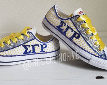 49205f434e96 Unisex Custom Bling Converse All Stars Adults and Teens