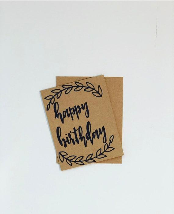Happy Birthday Card Customizable