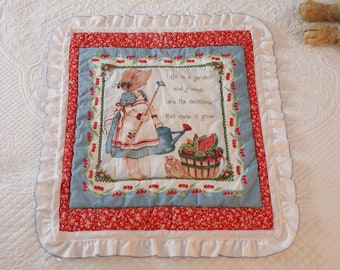 Gardening Doll Blanket