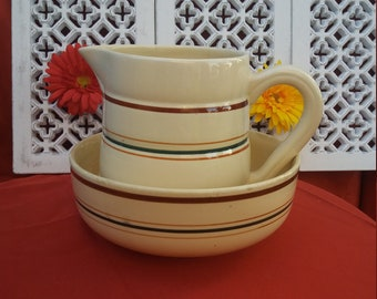 Whole dress(toilet) pitcher and basin screen GIEN GASTON