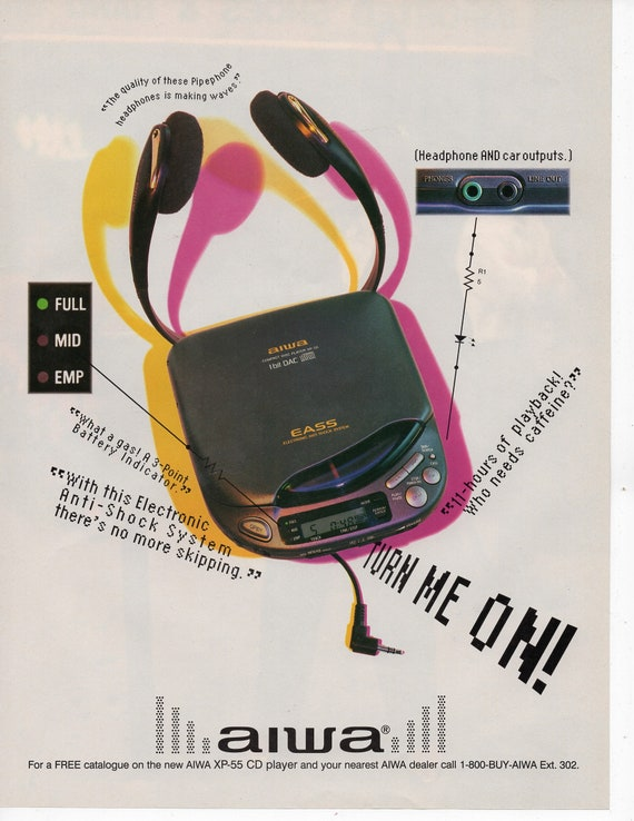 Image result for cd player advertisement