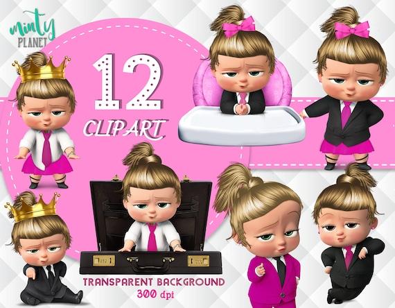 Girl Pink Boss Baby Boss Baby Girl Full Quality Birthday Girl Boss Baby Transparent Background Instant Download Psn019 D R
