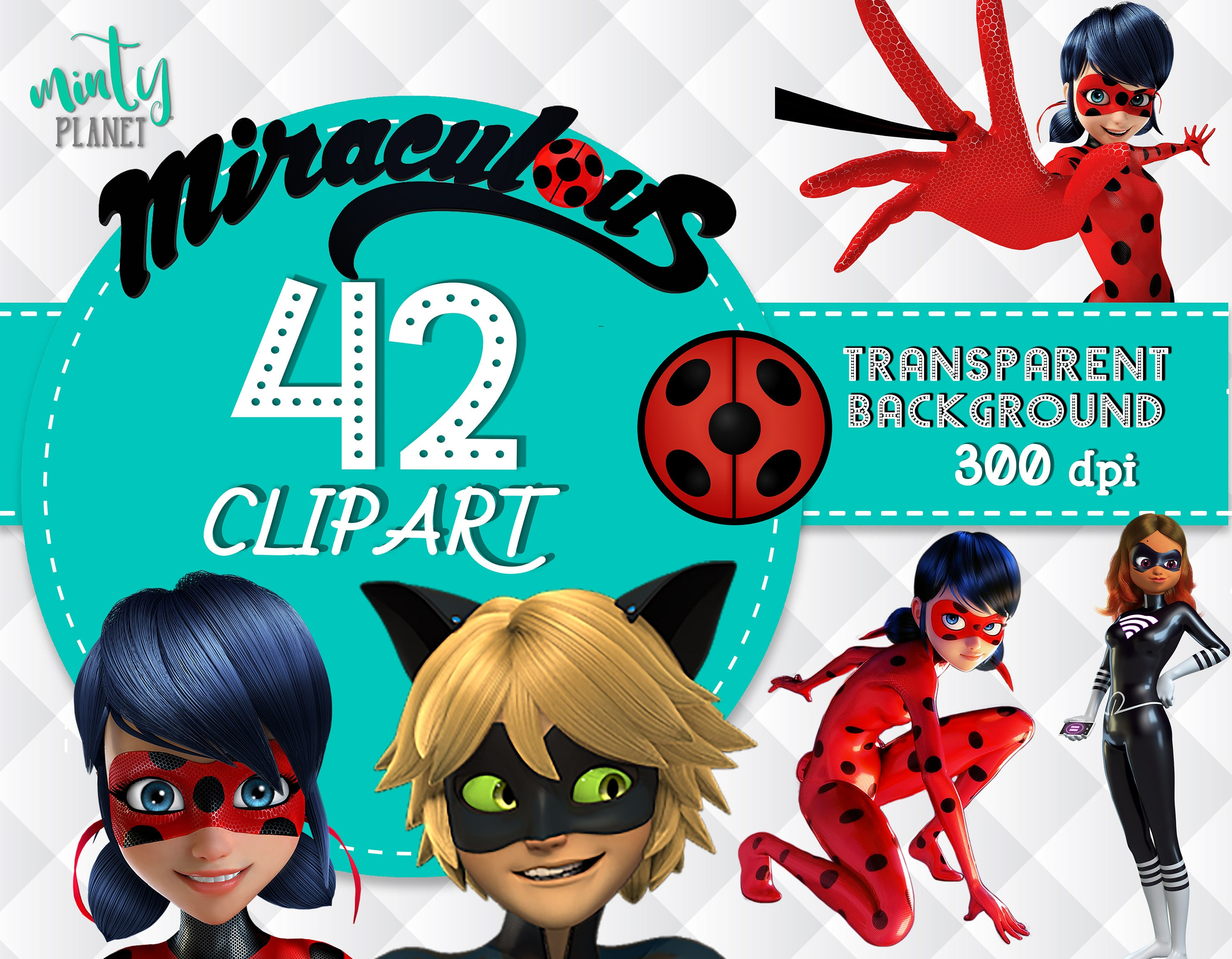 This is a picture of Divine Miraculous Ladybug Clipart