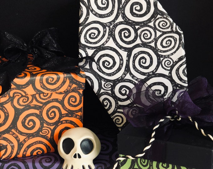 Featured listing image: Halloween Hypnotism Wrapping Paper