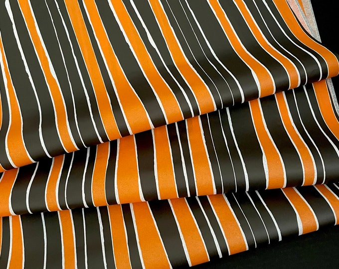 Featured listing image: Halloween Stripes Tissue Paper