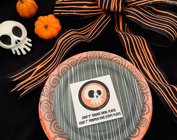Featured listing image: Halloween Hypnotism Paper Plates