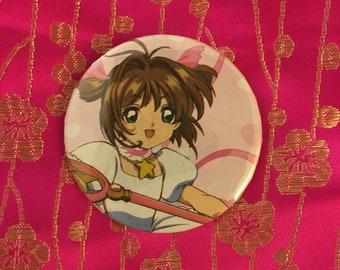 "Upcycled Cardcaptor Sakura 2.25"" Button"