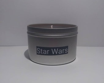 Chewbacca Star Wars candle