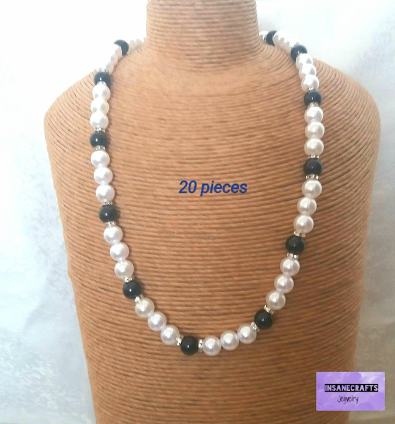Inexpensive simple pearl necklaces buy jewelry in bulk 50  17aeddad20