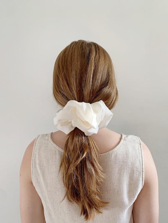 Silk XL Scrunchies // Kimono Fabric // Hair Accessories