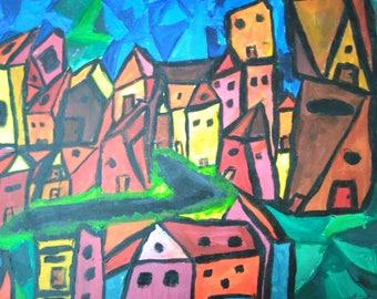 Geometry City of Art