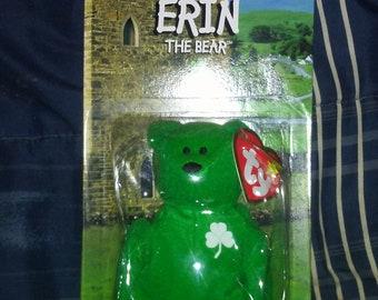 "Error ""Erin"" The Bear TY Beanie Babies Plush Ronald McDonald Charities"
