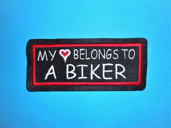 IRON ON NAME PATCH 1-1//2  X3-1//2 BOB NEW EMBROIDERED  SEW