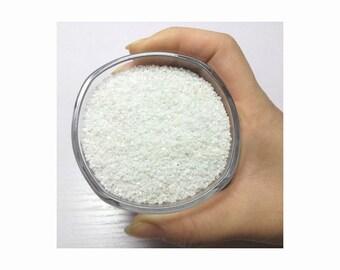 Natural Sand: White and Black // Colored Sand, White Sand, Black Sand, Succulent Sand, Bonsai Sand, Mineral Sand, Decoration Sand, Bonsai