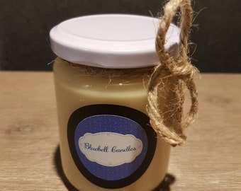 Ginger and Green Tea Scented Soy Hand-poured Candle