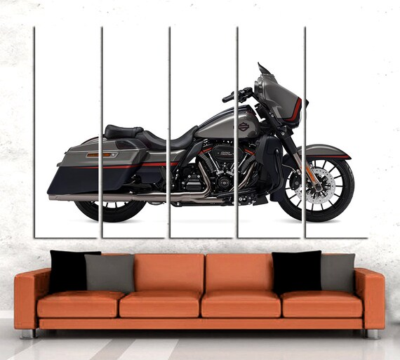 Awe Inspiring Harley Davidson Wall Art Motorbike Wall Art Harley Davidson Wall Decor Harley Davidson Canvas Motorcycle Canvas Motorcycle Decor Harley Art Gmtry Best Dining Table And Chair Ideas Images Gmtryco
