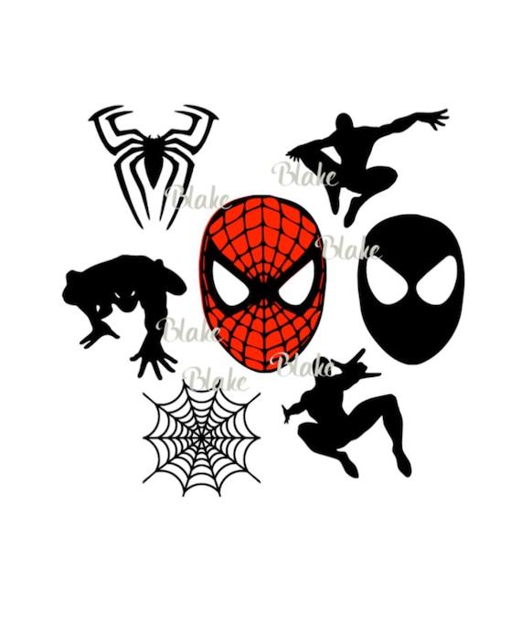 Spiderman Svg File Superhero Svg Spiderman Logo Spiderman Mask Etsy