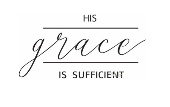 Image result for HIS GRACE IS SUFFICIENT