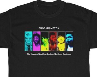 7a5be509 Brockhampton Iridescence T-Shirt / Brockhampton Boy Band Shirt /  Brockhampton merch / Brockhampton band clothes