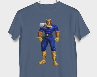 89977ab538f F-Zero GX Captain Falcon Shirt