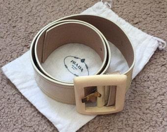 6097431c23a Vintage Prada Belt Brigitte Bardot s style