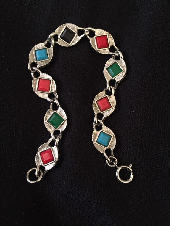 1950's Nautical Double Sided Vintage Bracelet