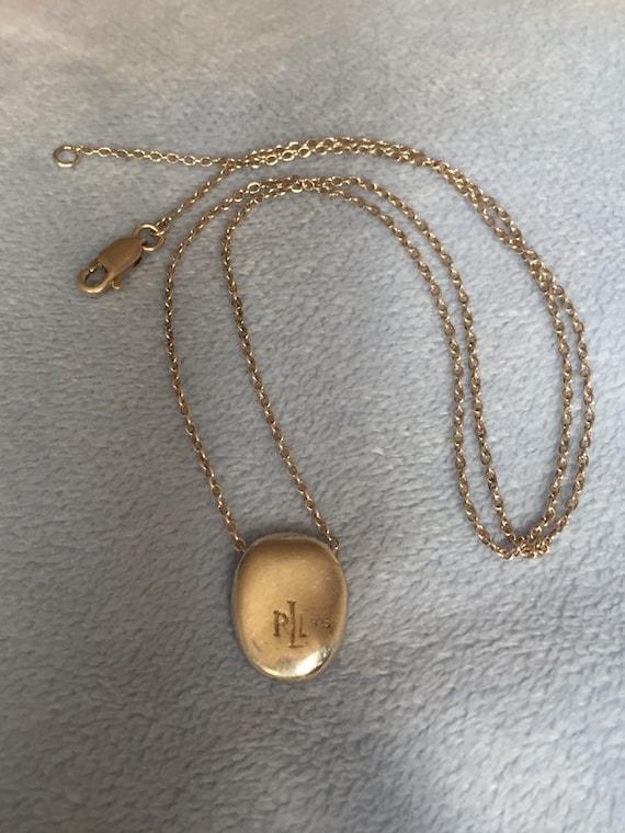 Original 1980's Sterling Silver Ralph Lauren RLL B