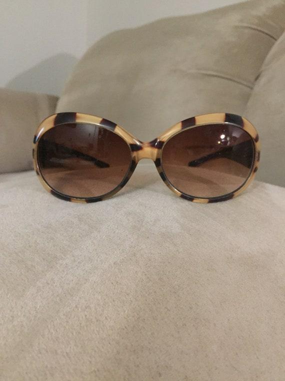 vintage 1960's style Tortoiseshell sunglasses - image 6