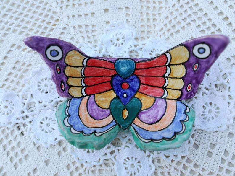 Carine Ceneriera || Cendrier en papillon