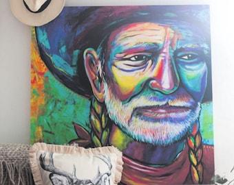 """Willie 36"""" x 36"""" Canvas"""
