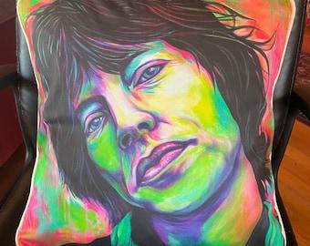 Mick Jagger Pillow Cover