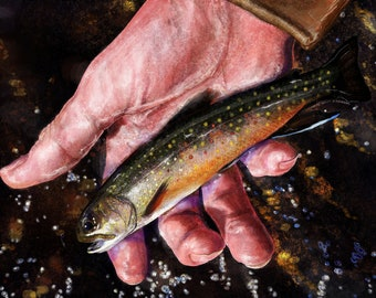 The Brookie in Hand
