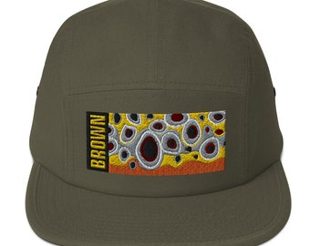 Brown Trout Flank, Five Panel Cap