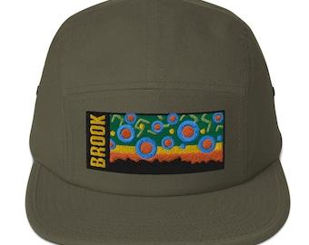 Brook Trout Flank, Five Panel Cap