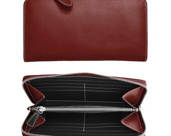Women's wallet with zipper