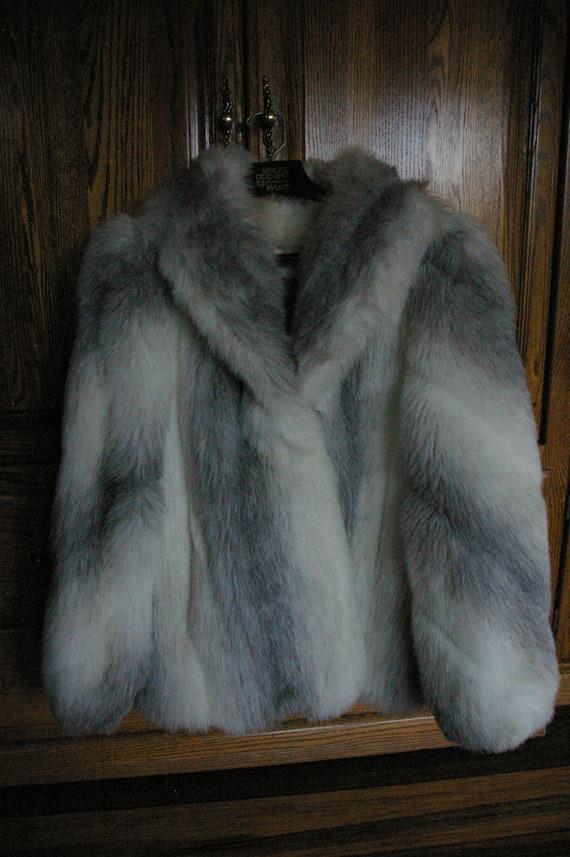 Jordache Faux Fur Jacket, 1980s Jordache, BOHO Fau