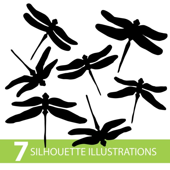 Dragonfly Silhouette Illustrations Drawing In Svg Pdf Ai Jpg Etsy On this page presented 35+ dragonfly silhouette photos and images free for download and editing. etsy