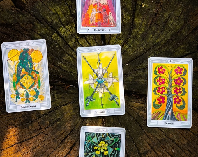"The SneekPeek - 5 Card Draw - TAROT Reading + E-book ""The Uses of Tarot"""