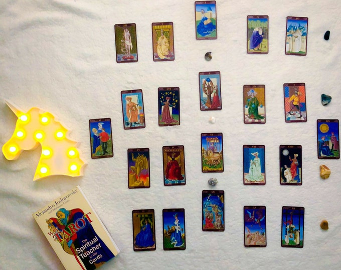 "A Hero's Journey - Embrace the Masculine Structure - 22 Major Arcana Cards Draw - TAROT Reading + E-Book ""The Uses of Tarot"""