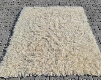 Anatolian Rug decor rug turkish Rug Eclectic Rug living room Rug 4/'4/'/' ft x 4/'6/'/' ft Design Rug Boho Rug Area wool Rug Ethnic Rug