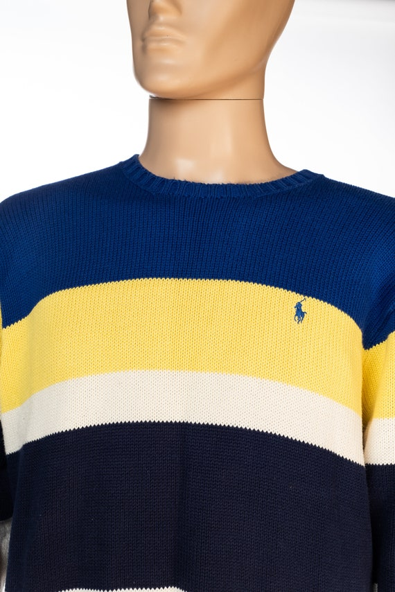 Vintage Polo by Ralph Lauren Color Block Sweater