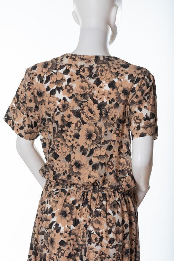 Very 1980s Vintage Floral Dress - image 6