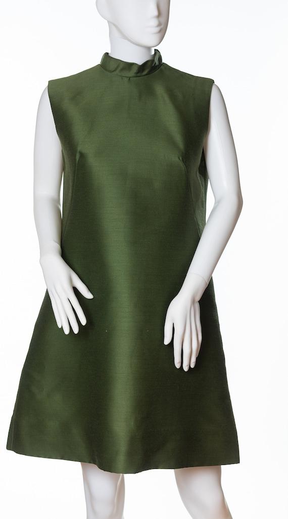 Amazing Vintage Green Dress by Jonathan Logan