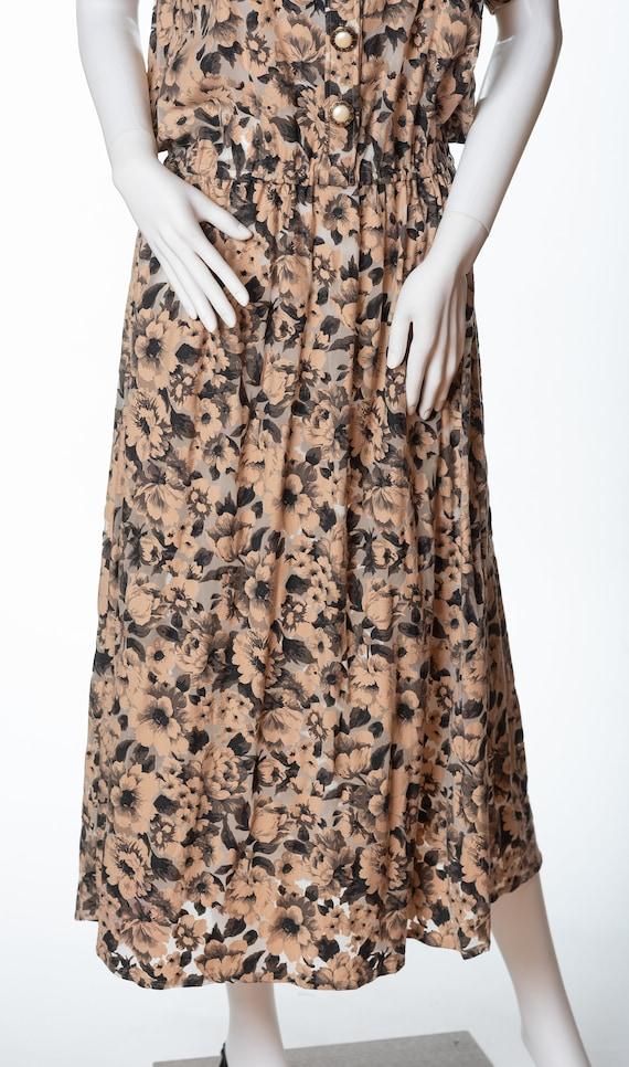 Very 1980s Vintage Floral Dress - image 3