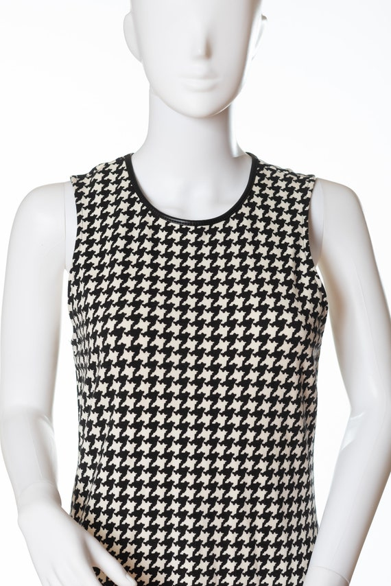 Lauren Houndstooth Dress, Ralph Lauren Sleeveless… - image 3